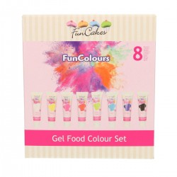 Pack de 8 colorant en gel