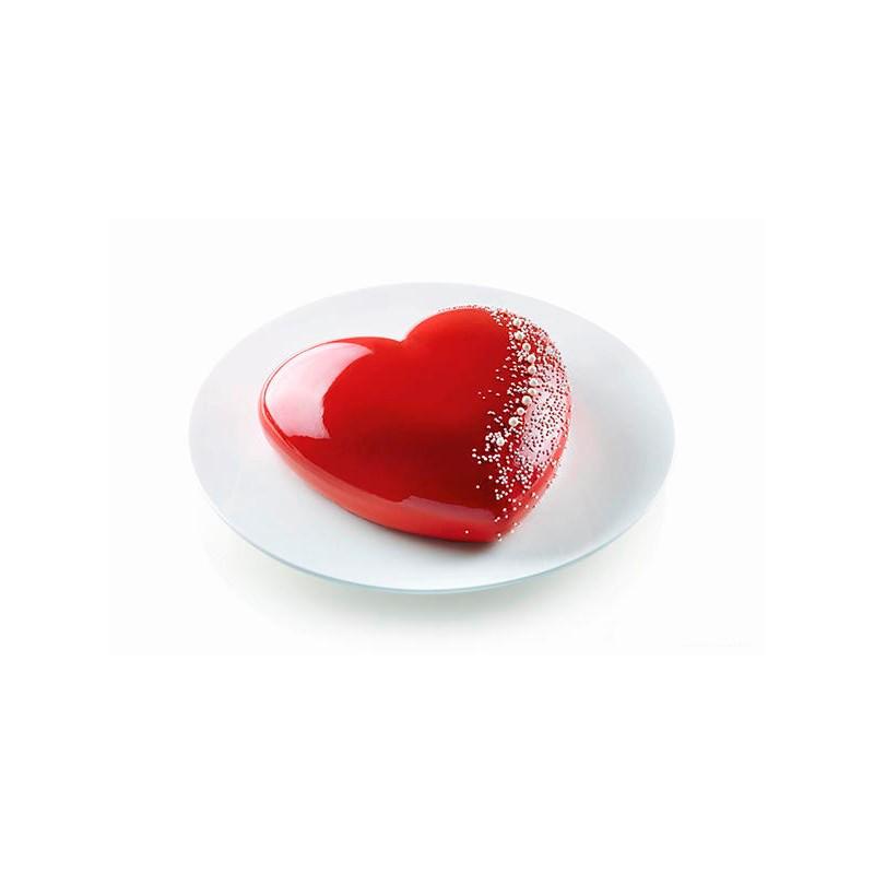 moule en silicone pour g teau coeur 3d f erie cake cake design. Black Bedroom Furniture Sets. Home Design Ideas