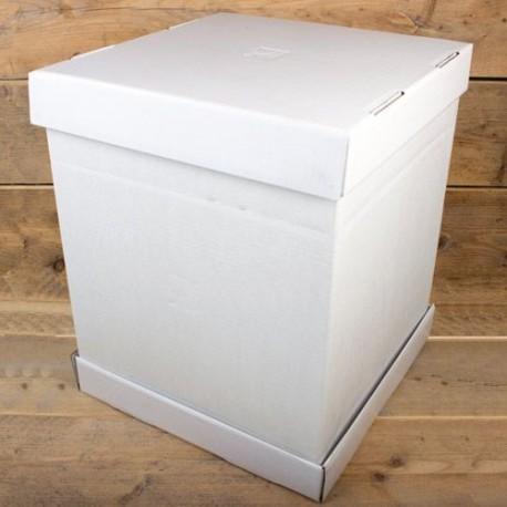 Boîte à gâteau 52 x 52 x 70 cm