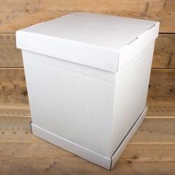 Boîte à gâteau 37 x 37 x 45 cm