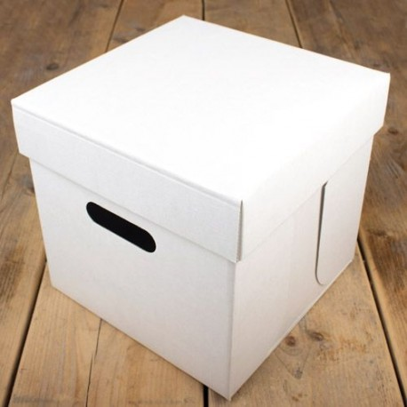 Boîte à gâteau 25,5 x 25,5 x 25 cm