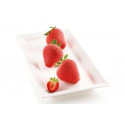 """Moule en silicone """"fraises"""""""