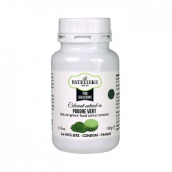 Colorant alimentaire naturel Vert en poudre - 100 g