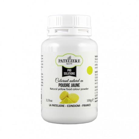 Colorant alimentaire naturel Jaune en poudre - 100 g