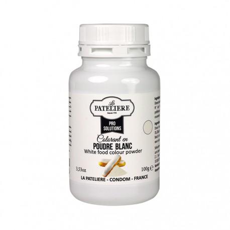 Colorant alimentaire naturel Blanc en poudre - 100 g