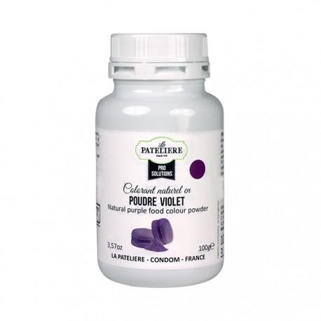 Colorant alimentaire naturel Violet en poudre - 100 g