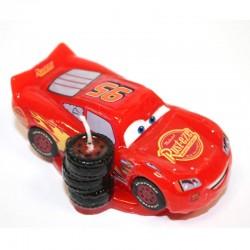Bougie d'anniversaire Cars