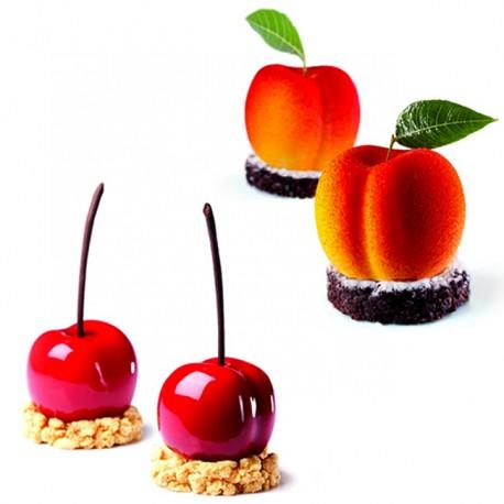 Moule abricot/cerise