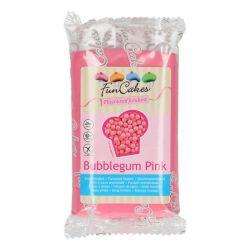 Pâte à sucre rose aromatisée au bubblegum - 250 g