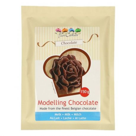 Pâte à modeler au chocolat au lait