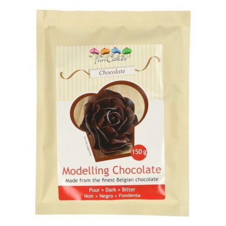 Pâte à modeler au chocolat noir