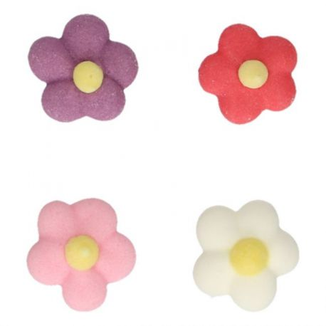 32 décors en sucre - Petites fleures