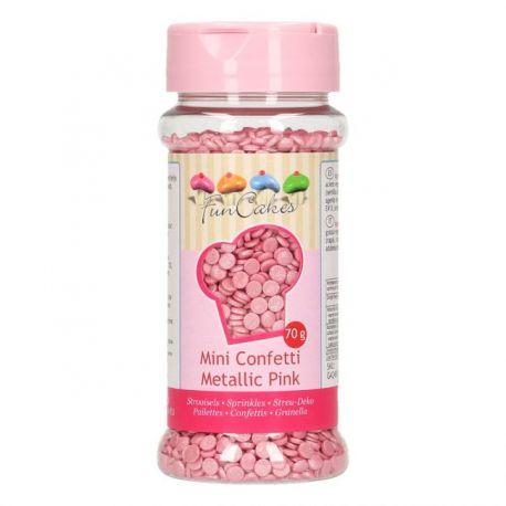 Confettis roses