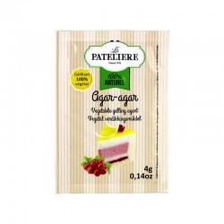 Agar-agar (gélifiant végétal) - 5 x 4 g