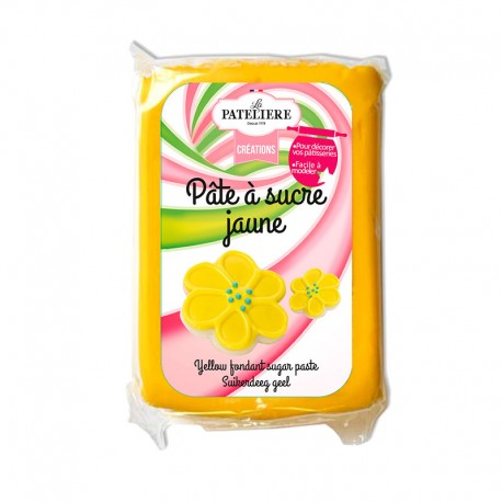 Pâte à sucre jaune 250 g