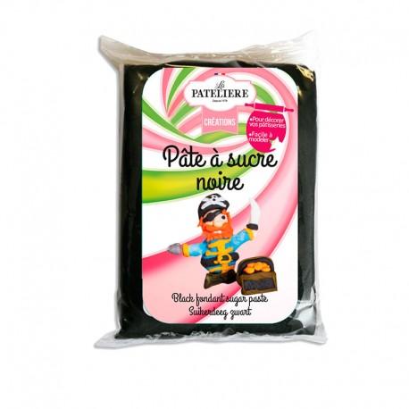 Pâte à sucre noire 250 g