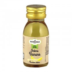 Arôme alimentaire naturel Banane - 60 ml