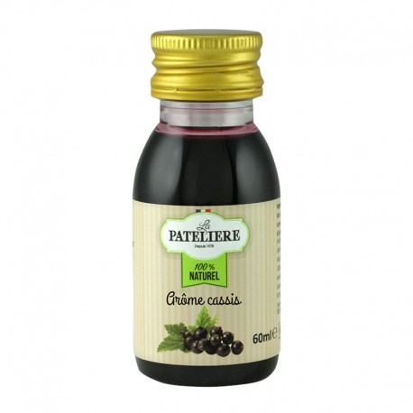 Arôme alimentaire naturel Cassis - 60 ml