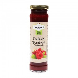 Coulis de Framboise 70% de fruits 165 g