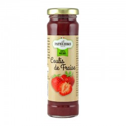 Coulis de Fraise 70% de fruits 165 g