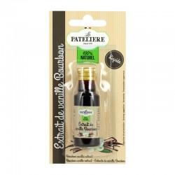 Extrait de vanille Bourbon 15% 20 ml