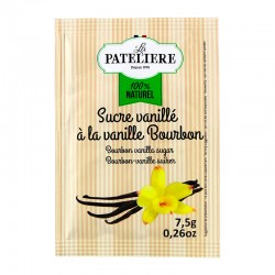 Sucre vanillé naturel à la vanille Bourbon 5 x 7,5 g