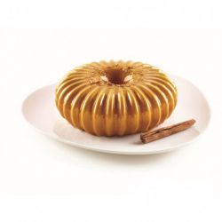 """Moule à gâteau 3D en silicone """"couronne crantée"""""""