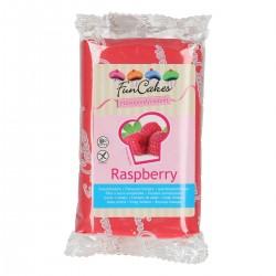 "Pâte à sucre rose arômatisée ""framboise"" - 250g"