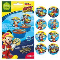 "16 mini disques en sucre ""Mickey"""