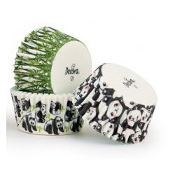 """75 caissettes à cupcakes standard """"Pandi panda"""""""