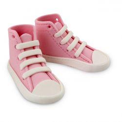 Baskets de bébé en sucre - Rose