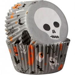 75 caissettes standard crânes