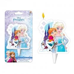Bougie La reine des Neiges - Anna & Elsa