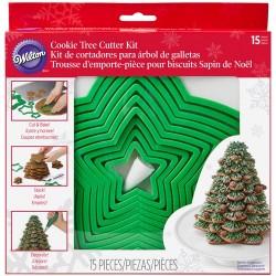 Kit d'emporte-pièces pour sapin de Noël en biscuits