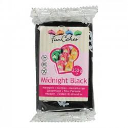 Pâte d'amande noir - 250 g