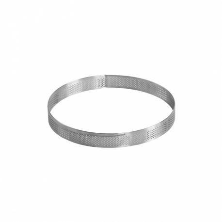Cercle à entremets perforé - 17 cm