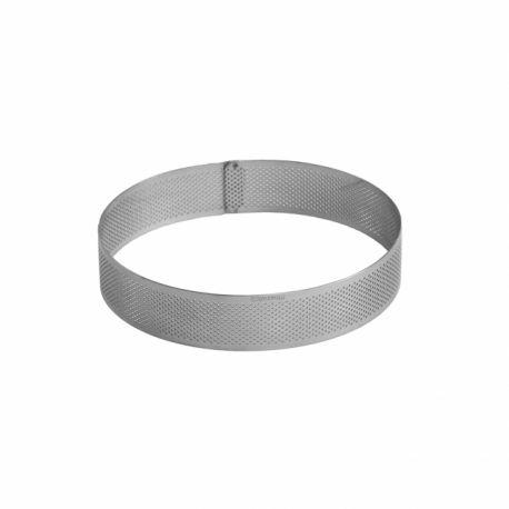 Cercle à entremets perforé - 17,5 cm