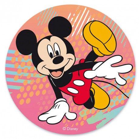 """Disque azyme """"Mickey danse"""" - 20 cm"""