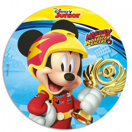 Disque de pâte à sucre Mickey 16cm