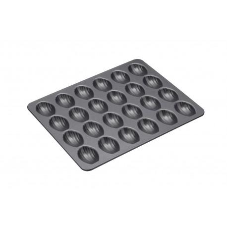 Moule à mini madeleines antiadhésif - 24 cavités