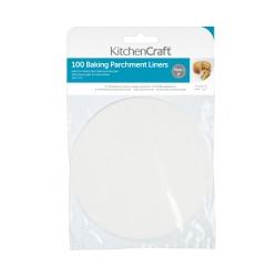 Rouleau de papier cuisson siliconé - Ø 15 cm