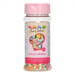 """Mélange sprinkles """"Licorne"""" - 50 g"""