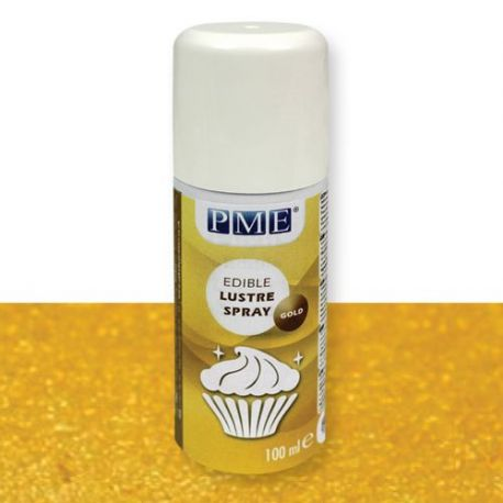 Spray comestible doré - 100 ml