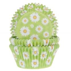 """Caissettes à cupcakes """"marguerites"""""""