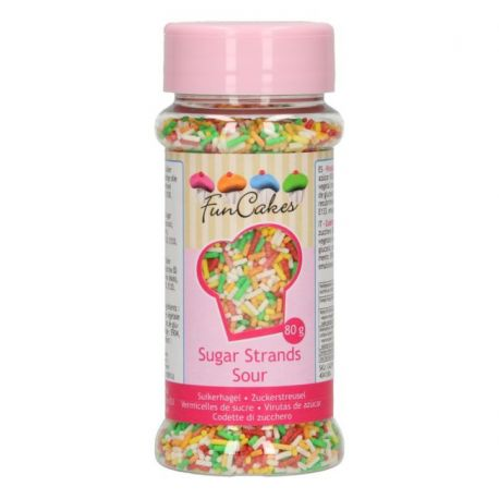 Vermicelle en sucre acidulés - 80 g