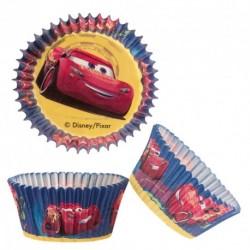 """50 caissettes à cupcakes standard """"McQueen"""""""