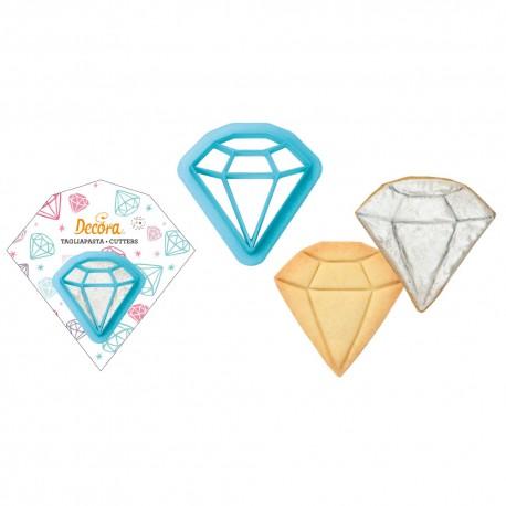 """Lot de 2 emporte-pièces """"Diamant"""""""