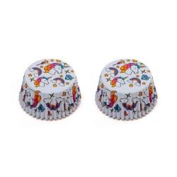 """36 caissettes à cupcakes standard """"Licorne"""""""