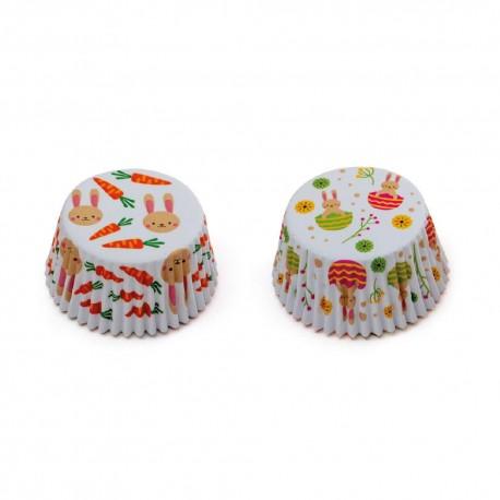 """36 caissettes à cupcakes standard """"Lapinou"""""""