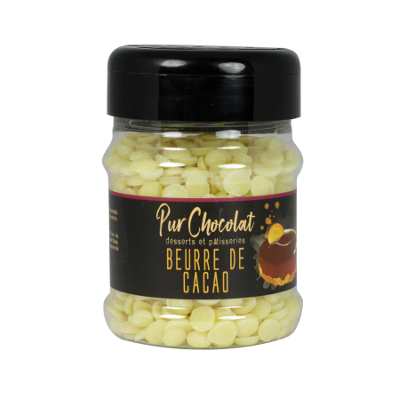 Beurre de cacao en pépites - 120 g
